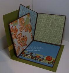 Mini fold-out album