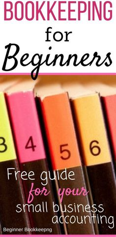 Free bookkeeping tips, templates, printables, 101 training for your small business