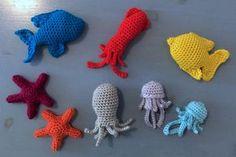 Suvi's Crochet: Sea Life - Baby Mobile