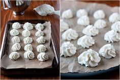 Frozen whipped cream for hot chocolate. Pinning to remember for Christmas Eve -