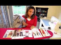 Sewing from the VERY beginning- if you learn by watching, this will help because she takes you through EVERYTHING!