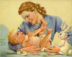 Peinture de Mabel Rollins Harris