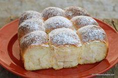 Gogosi pufoase reteta de la bunica | Savori Urbane Romanian Food, Pastry Cake, Strudel, Sweet Memories, No Bake Cake, Finger Foods, Baking Recipes, Banana Bread, Deserts