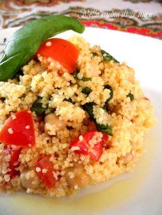 Il cous cous con pollo e verdure è un piatto unico, ottimo freddo