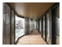 . ARCHITECTURES ANNE DEMIANS - M9D4/Oressence - 54 logements en accession et commerces, ZAC Massena Chevaleret