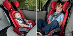 Can you imagine having only one car seat for your child? The RadianRXT by Diono converts all the way up to a booster!