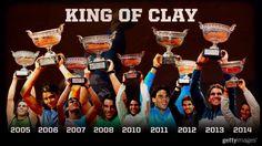 Rafael Nadal King of Clay French Open Roland Garros