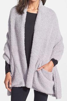 cozy travel shawl