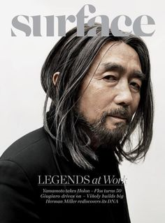 Yohji Yamamoto, the most incredible designer living today, I wear his clothes, I collect his books (Talking to Myself) He is Great!  And he is one year older than me! Peace/Out!
