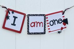 4th of July Party Banner, Birthday, Baby Shower, Independence Day Decorations on Etsy, $16.00