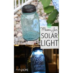 Mason Jar Lighting DIY Projects - The Cottage Market