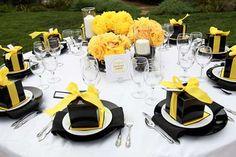 Decoração de Casamento Amarelo: Fotos, Inspiração, Dicas