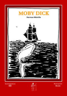 """""""Chiamatemi Ismaele."""" Con questo incipit, tra i più noti della letteratura, inizia il drammatico epico poema; la terribile, infinita, mortale lotta tra due personaggi meravigliosi e terribili, la balena bianca e il capitano Ahab.  Nell'anno del 200° anniversario della nascita di Herman Melville due giovani autori hanno voluto rendergli omaggio cimentandosi con la riduzione e la realizzazione grafica del suo immortale Moby Dick."""