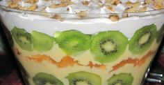 Fresh Fruit South African Trifle Recipe