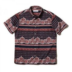 HEAD PORTER PLUS|PAISLEY SHIRT