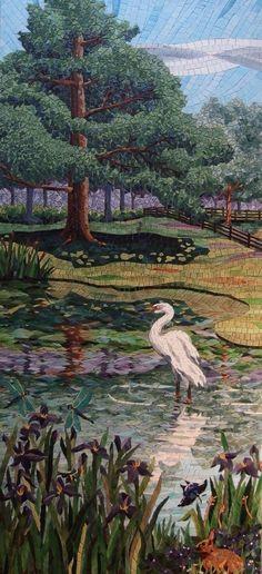 Julie Bors Mazzoni, mosaic