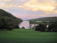 The Shoalhaven River from the verandah of Riversdale, where I stayed as a teenager. I love the way the shifting light changes the palette of colour from one moment to the next.