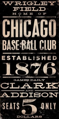 Chicago Cubs - Click image to find more Other Pinterest pins