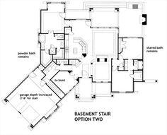 Basement Stair Opt 2 image of L'Attesa di Vita