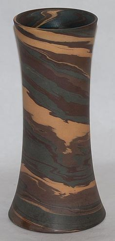 Niloak Pottery Mission Swirl Vase from Just Art Pottery
