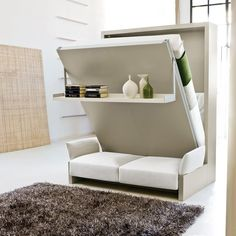 Nuovoliola 10 by Resource Furniture  Vertical contempo murphy bed $2095