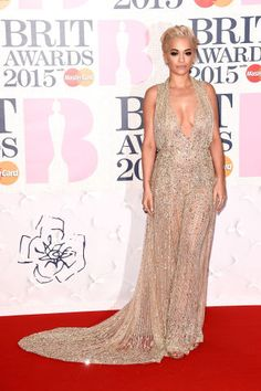Rita Ora on the red carpet for the Brit Awards, plus more celebs: