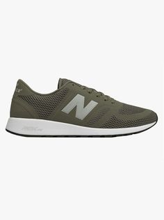 15f9d5c768330 New Balance 420 Knitted Trainer Foliage Green / Overcast | New Balance |  Evolve Menswear