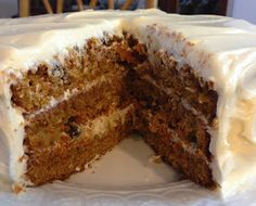 Love from scratch carrot cake. Someone PLEASE figure out how to remove the calories