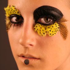 Halloween makeup ideas. I think that I might do this for the Halloween Ninja Night. Any ideas?