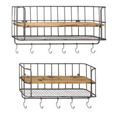 You'll love the Metal Wall Storage Rack at Wayfair - Great Deals on all Décor  products with Free Shipping on most stuff, even the big stuff.