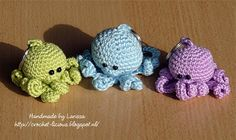 Oh how gorgeous are these mini Amigurumi?!!