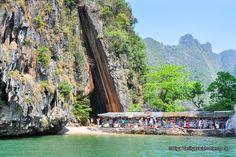 James Bond Island in Phang Nga Bay - Attractions Nearby Phuket