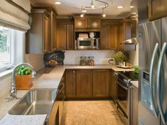 Lighting For A Galley Kitchen
