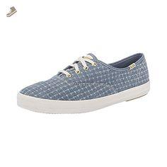 59beb673b17 Keds WF56418 Women s Champion Foil Ticking Dot Fashion Sneaker