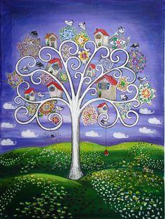 naive paintings from Yana Ilieva