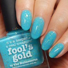 piCture pOlish Fool's Gold