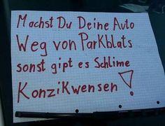 Verrückte Schilder oder Sprüche.... - Garten: Gartenforum.de: