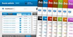 Boxie Admin - Admin Templates Site Templates