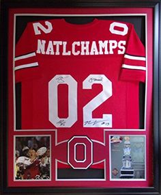 Ohio State 2002 National Championship Team JSA Signed by 4 Jersey Framed Tressel Mister Mancave http://www.amazon.com/dp/B014XJLT3U/ref=cm_sw_r_pi_dp_M4trwb023D0RV