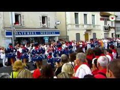 Fêtes Féria de DAX 2015 Défilé des majorettes de Zagreb Croatie - YouTube