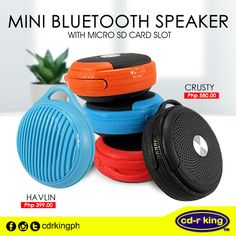 No need for cords when you can save space with the Mini Speaker. Available in different styles, you can choose the best one for you at one of our branches nationwide. Mini Bluetooth Speaker, Sd Card, Cords, Branches, Are You The One, King, Space, Display, Ropes
