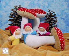 https://flic.kr/p/a25Pgp   Gnomies and Mushrooms