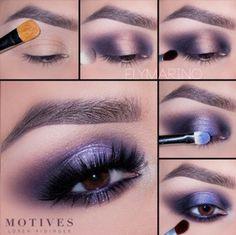 "Weekend Beauty: ""Deep Shimmer Blue"" Makeup Tutorial – Top Popular Make-Up Cute Makeup, Simple Makeup, Natural Makeup, Mac Makeup, Beauty Makeup, Makeup Shayla, Makeup Hacks, Blaues Make-up, Eye Makeup Steps"