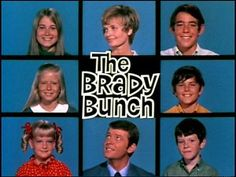 """Clutter-Free Classroom: Groovy 70s Themed Classrooms - Including assorting your student's pictures into """"Brady Bunch"""" style picture grid."""