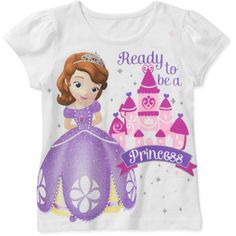 Disney Sofia the First Baby Toddler Graphic Tee