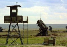 A Patriot missile battery.