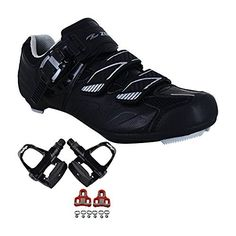 Zol Stage Plus Road Cycling Shoes with Pedals and Cleats, http://www.amazon.com/dp/B01GW6YH3G/ref=cm_sw_r_pi_awdm_x_CIjQxb7C5BZE9