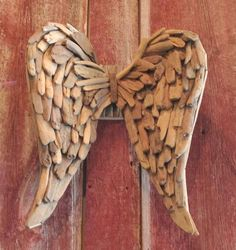 Driftwood Angel Wings
