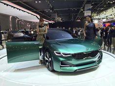 #KiaNow MT @car_advice The new #Kia #Novo concept looks sensational at the @SeoulMotorShow