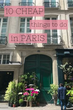 10 Cheap Things to do in Paris